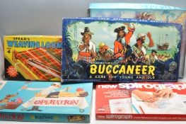 COLLECTION OF VINTAGE RETRO 20TH CENTURY BOARD GAMES