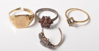 GROUP OF 20TH CENTURY RINGS FOR RESTORATION