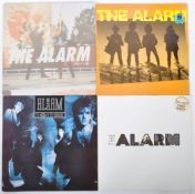 THE ALARM GROUP OF FOUR VINYL RECORD ALBUMS