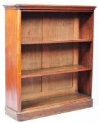 19TH CENTURY ENGLISH ANTIQUE MAHOGANY BOOKCASE