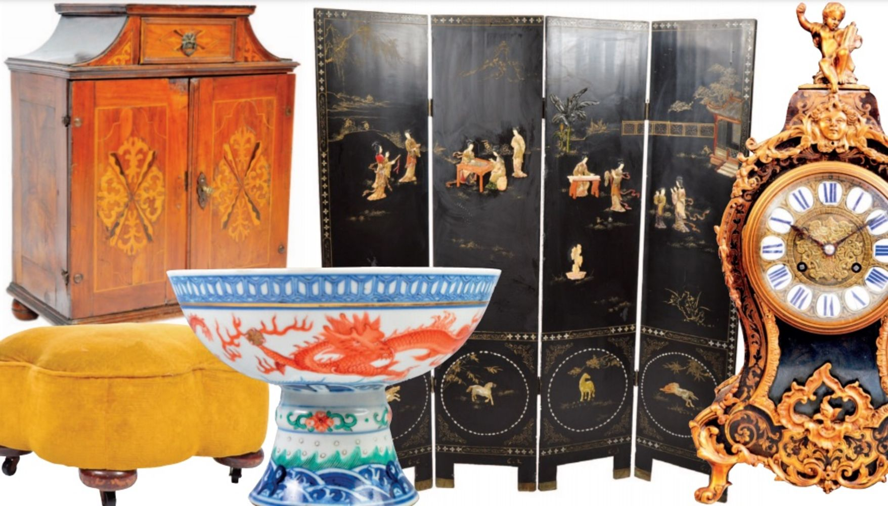 Online Fine Art & Antiques Auction - Worldwide Postage, Packing & Delivery Available On All Items