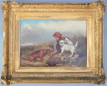 JAMES HARDY JUNIOR 19TH CENTURY OIL ON CANVAS PAINTING