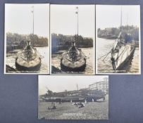 WWI FIRST WORLD WAR GERMAN U-BOAT REAL PHOTOGRAPHIC POSTCARDS