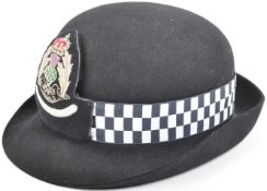 20TH CENTURY SCOTTISH POLICE FEMALE CHIEF SUPERINTENDENT HAT