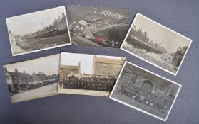 WWI LOCAL INTEREST REAL PHOTOGRAPH POSTCARDS CHIPPING SODBURY