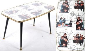 AVALON - THE BEATLES - ORIGINAL BEATLES THEMED RETRO COFFEE TABLE