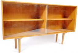 ROBIN DAY FOR HILLE FURNITURE MID CENTURY SATIN WOOD BOOKCASE
