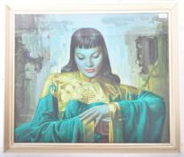 VLADIMIR TRETCHIKOFF - LADY FROM ORIENT MID CENTURY PRINT