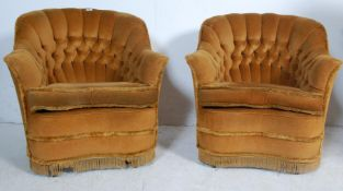 TWO BOUDOIR BEDROOM CHAIRS