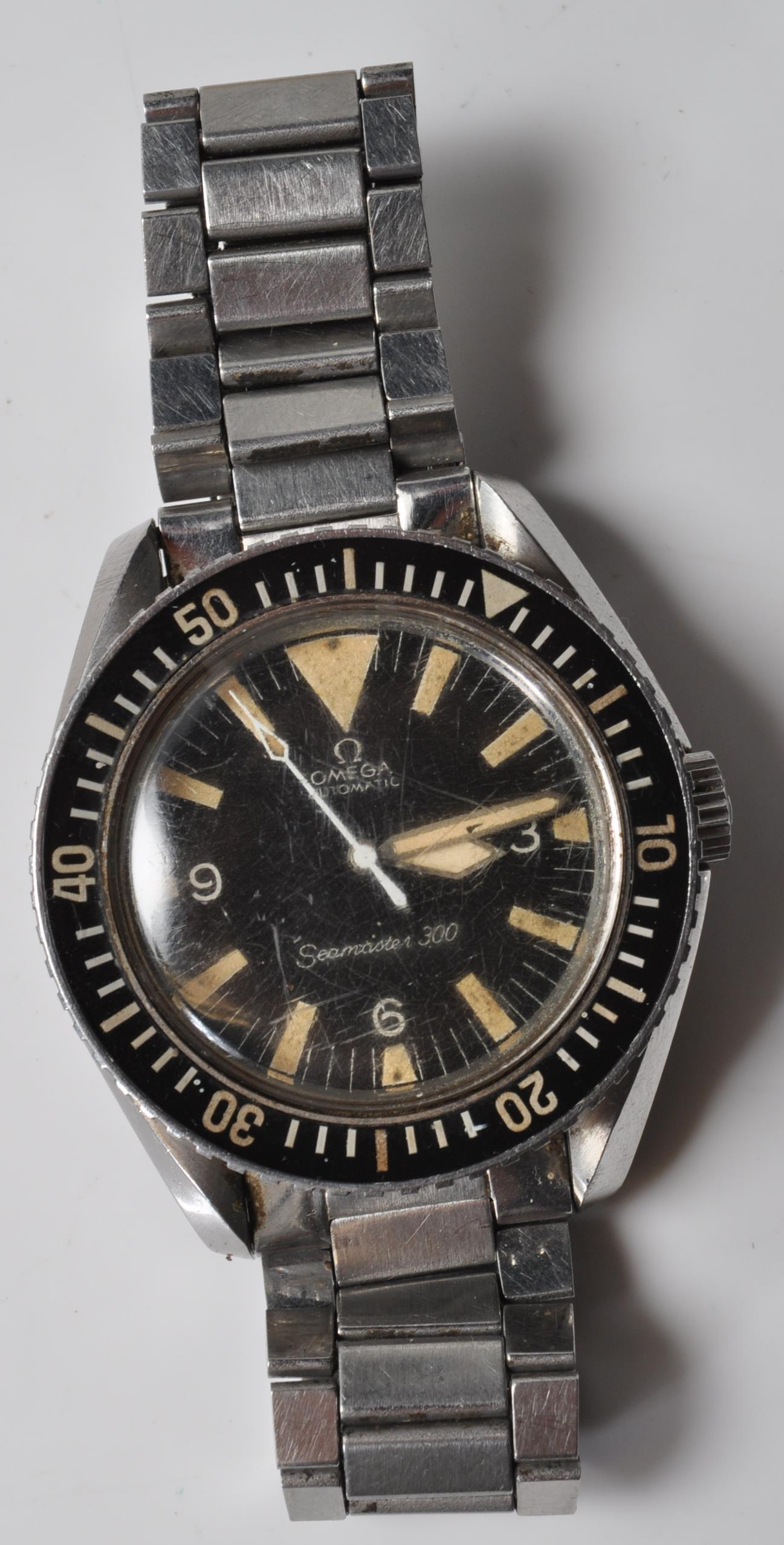 VINTAGE 1960'S OMEGA SEAMASTER 300 BIG TRIANGLE WRIST WATCH - Image 6 of 14