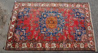 MID 20TH CENTURY PERSIAN ISLAMIC TARFRESH CARPET RUG