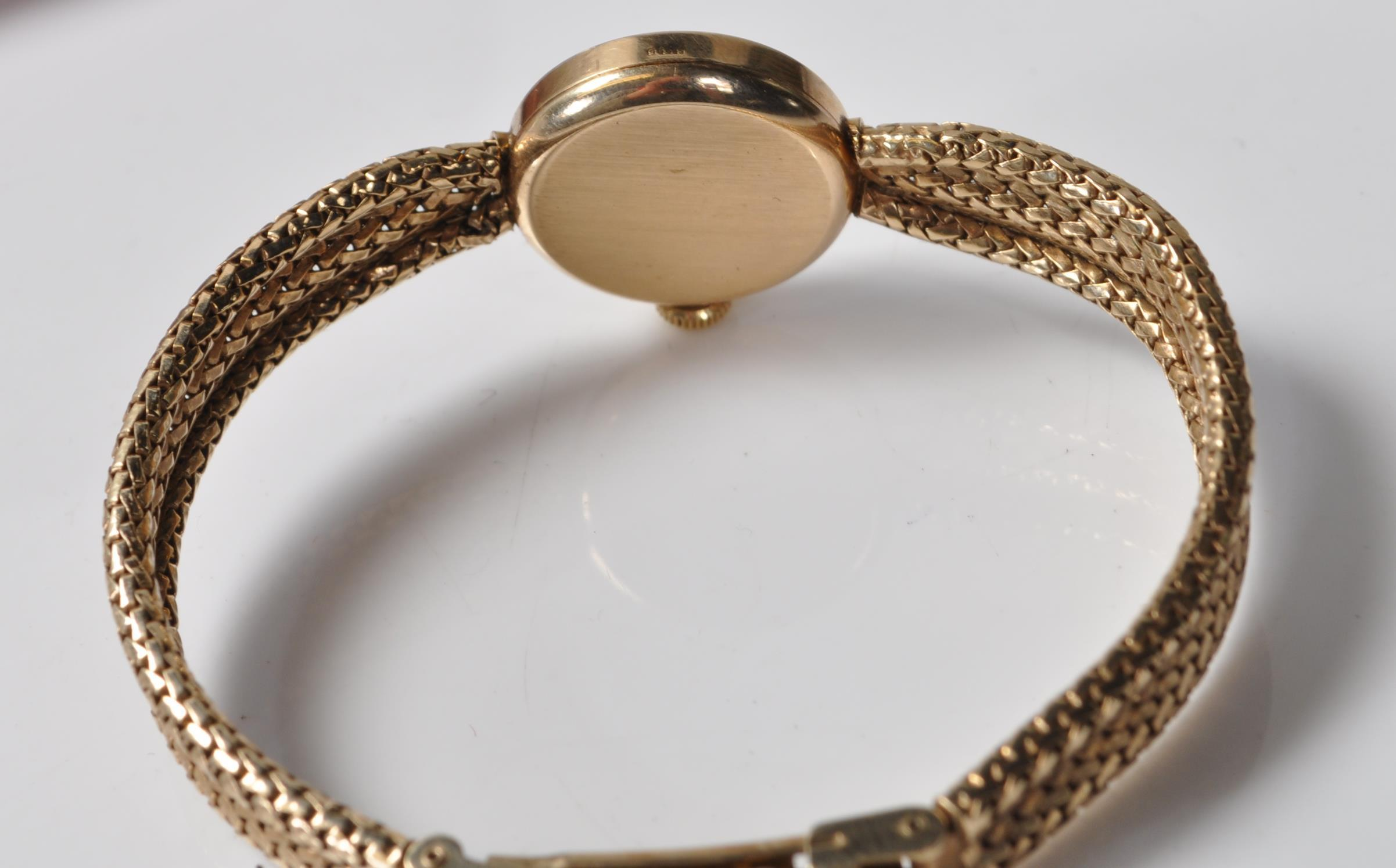 9CT GOLD OMEGA LADIES WATCH - Image 6 of 15