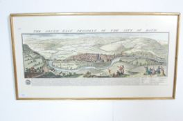 SOUTH EAST PROSPECT OF THE CITY OF BATH - PRINT