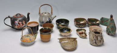 LARGE COLLECTION OF CHINESE ORIENTAL CERAMIC WARE
