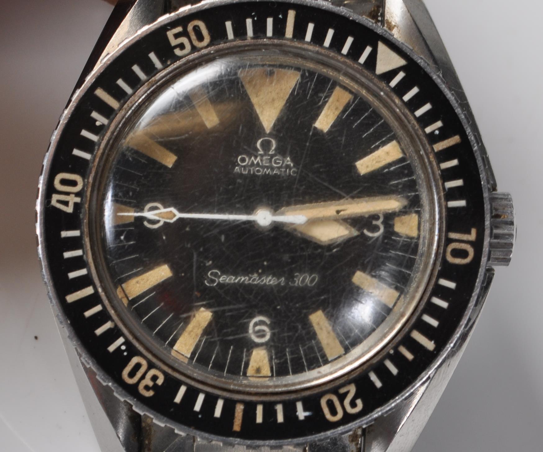 VINTAGE 1960'S OMEGA SEAMASTER 300 BIG TRIANGLE WRIST WATCH - Image 3 of 14