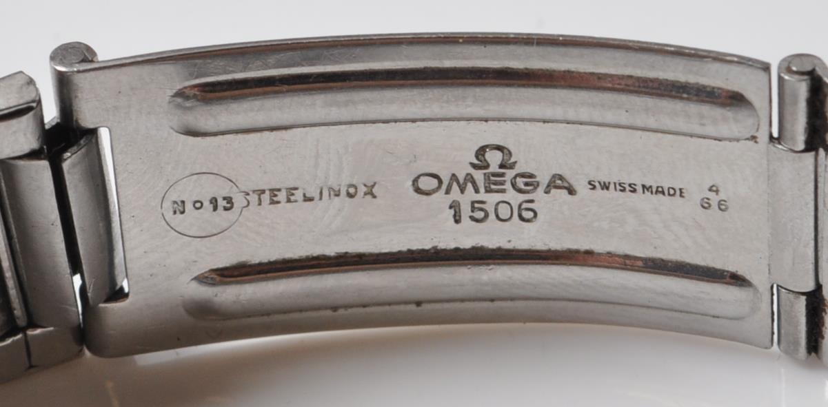 VINTAGE 1960'S OMEGA SEAMASTER 300 BIG TRIANGLE WRIST WATCH - Image 12 of 14