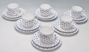 VINTAGE LATE 20TH CENTURY FINE BONE CHINA IN THE ELIZABETHAN PATTERN