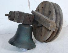 19TH CENTURY VICTORIAN BELL METAL CHURCH BELL