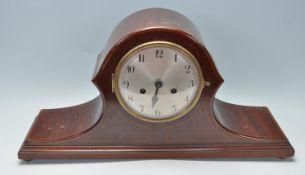 EARLY 20TH CENTURY EDWARDIAN MAHOGANY MANTEL CLOCK