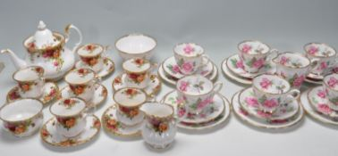 COLLECTION OF VINTAGE 20TH CENTURY CHINA TEA SERVICES