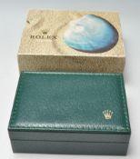 20TH CENTURY ROLEX OYSTER WATCH BOX