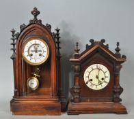 19TH CENTURY HENRY MARC OF PARIS MANTEL CLOCK