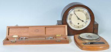 1930'S GARRARD MANTEL CLOCK