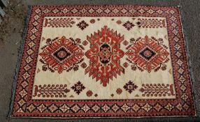 MID CENTURY PERSIAN ISLAMIC / AFGHAN CARPET RUG