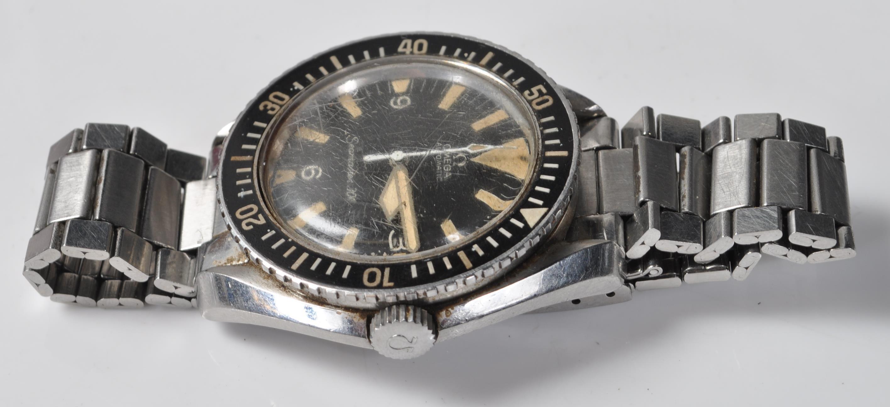 VINTAGE 1960'S OMEGA SEAMASTER 300 BIG TRIANGLE WRIST WATCH - Image 7 of 14