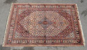 20TH CENTURY INDIAN BIDJAR RUG CARPET