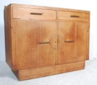 1930'S ARTS AND CRAFTS OAK SIDEBOARD IN THE MANNER OF HEALS & SON LONDON
