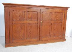 EARLY 20TH CENTURY CANADIAN PEACH PINE CUPBOARD