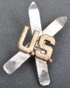 WWII SECOND WORLD WAR US 10TH MOUNTAIN DIVISION SKI HAT BADGE