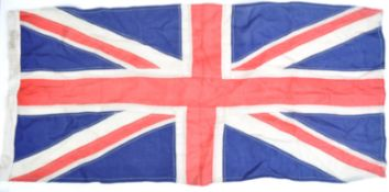 WWII SECOND WORLD WAR UNION JACK FLAG - REAR ADMIRAL EJP BRIND