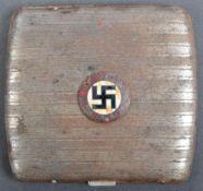 WWII SECOND WORLD WAR GERMAN THIRD REICH CIGARETTE CASE
