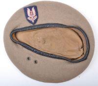 WWII SECOND WORLD WAR INTEREST - SAS UNIFORM BERET