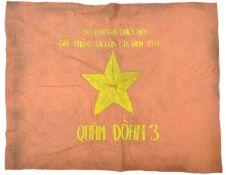 20TH CENTURY VIETNAM WAR INTEREST FALL OF SAIGON FLAG