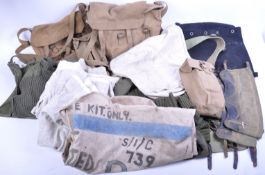 COLLECTION OF ASSORTED BRITISH ARMY UNIFORM WEBBING