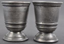 WWII SECOND WORLD WAR THIRD REICH HITLER YOUTH SCHNAPPS CUPS