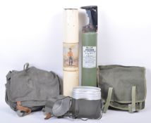 COLLECTION OF ASSORTED WWII AND OTHER RELATED ITEMS