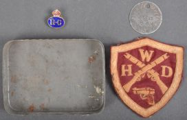 WWII SECOND WORLD WAR RELATED HOME GUARD ITEMS