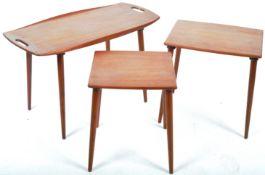 JENS HARALD QUISTGAARD FOR RICHARD NIESSEN TEAK NEST OF TABLES