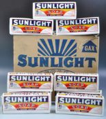 SUNLIGHT SOAP GROUP OF NINE SOAP BARS AND SHIPPING BOX