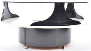 VINTAGE HIGH END BRITISH DESIGN TWO TIER COFFEE TABLE