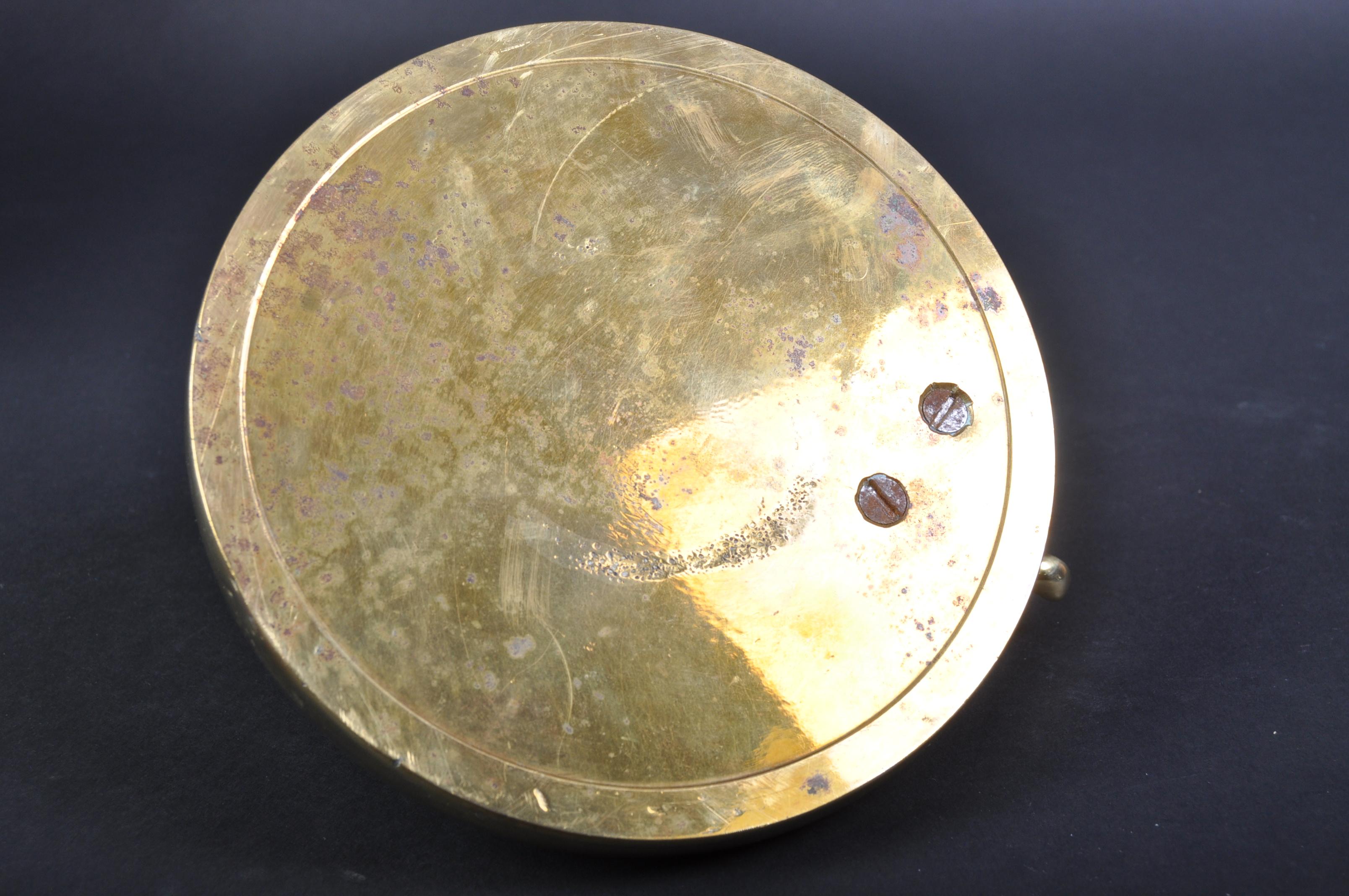 JAGUAR - VINTAGE 20TH CENTURY BRASS PROMOTIONAL ASHTRAY - Image 5 of 5