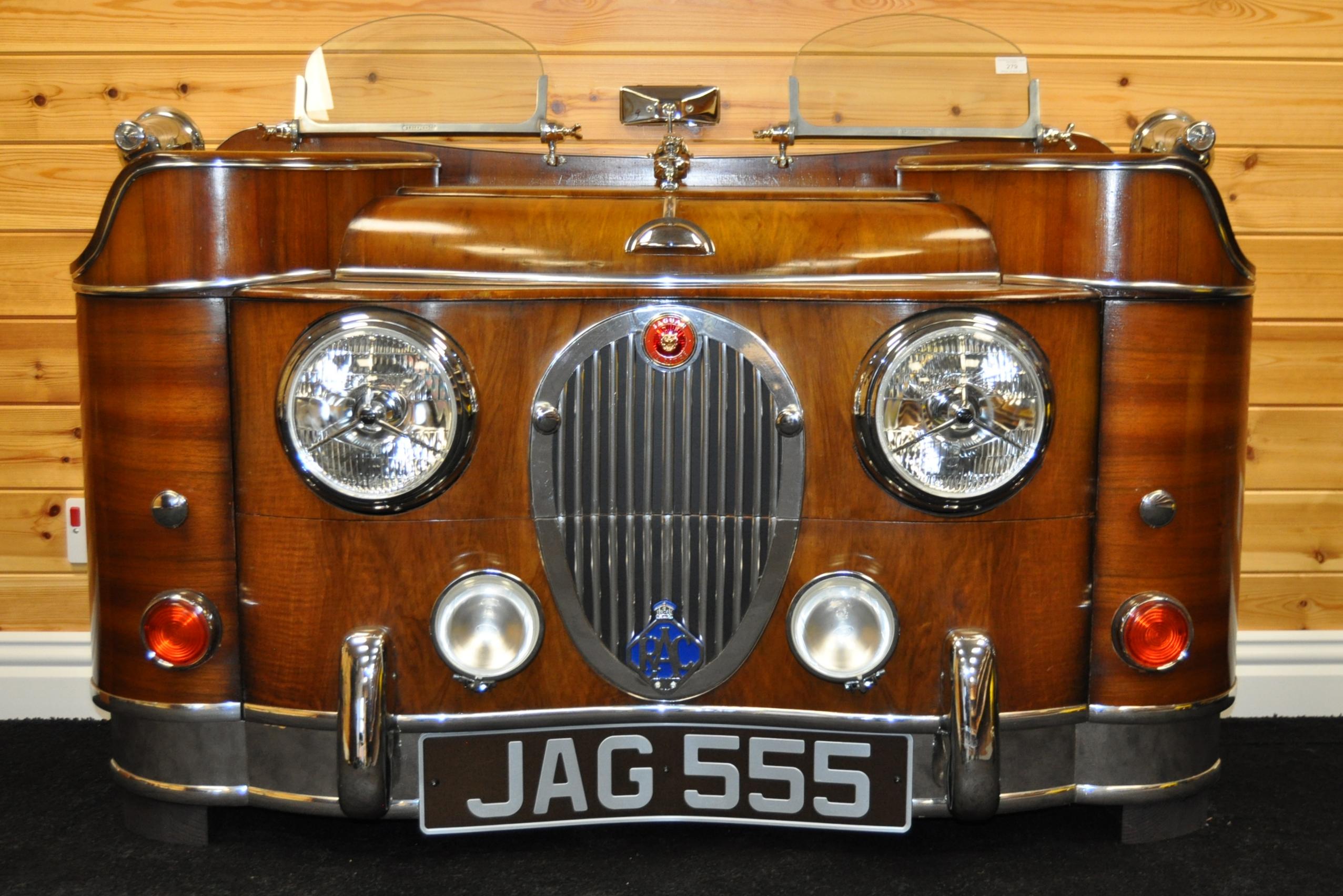 JAGUAR - INCREDIBLE 1940S SIDEBOARD STYLE OF JAGUAR MK 2