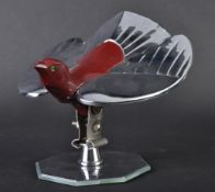 CAR MASCOT - 20TH CENTURY CHROME BIRD CAR BONNET MASCOT