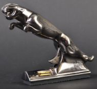 JAGUAR - NOVELTY 20TH CENTURY JAGUAR MASCOT CIGARETTE LIGHTER