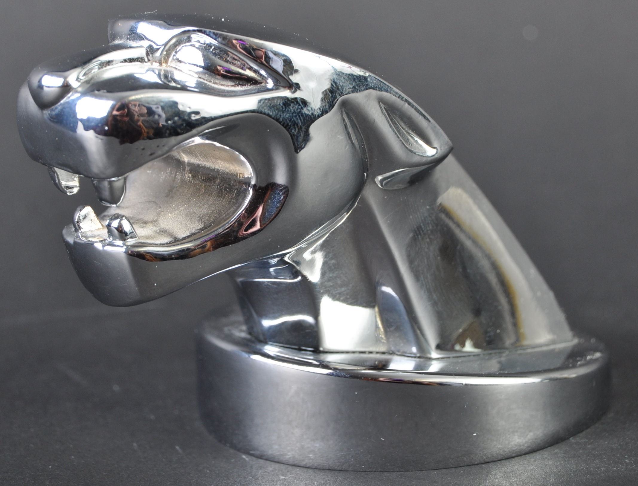 JAGUAR - ORIGINAL CHROME MASCOT BOTTLE OPENER