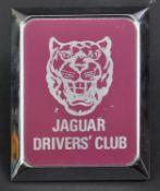 JAGUAR - ORIGINAL VINTAGE JAGUAR DRIVER'S CLUB CAR BADGE